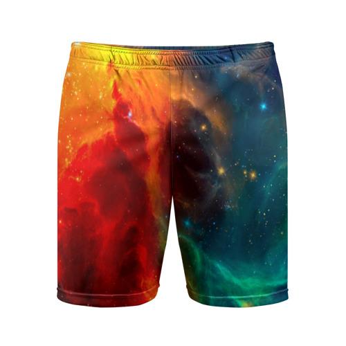 Мужские шорты 3D спортивные  Фото 01, Atlantis nebula