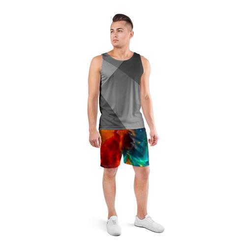 Мужские шорты 3D спортивные  Фото 04, Atlantis nebula