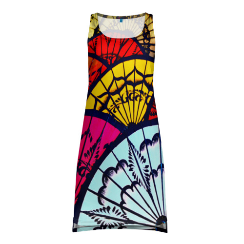 Платье-майка 3D Восток