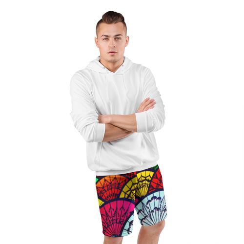 Мужские шорты 3D спортивные  Фото 05, Восток