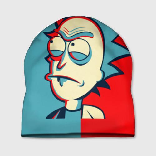 Шапка 3D Rick