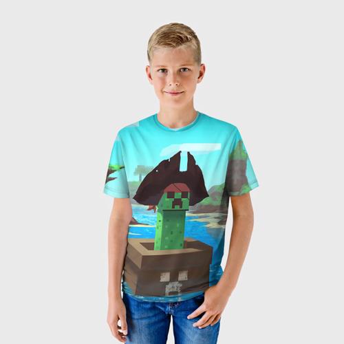 Детская футболка 3D Creeper