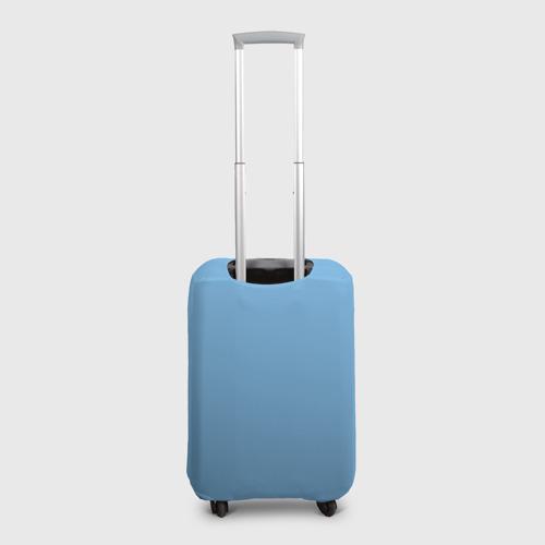 Чехол для чемодана 3D Minecraft на коне Фото 01