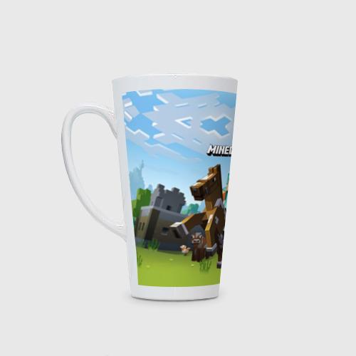 Кружка Латте Minecraft на коне Фото 01