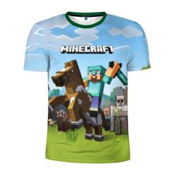Minecraft на коне