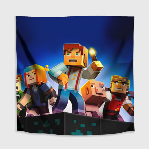 Скатерть 3D  Фото 02, Minecraft