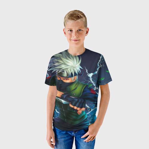 Детская футболка 3D Какаси Хатакэ