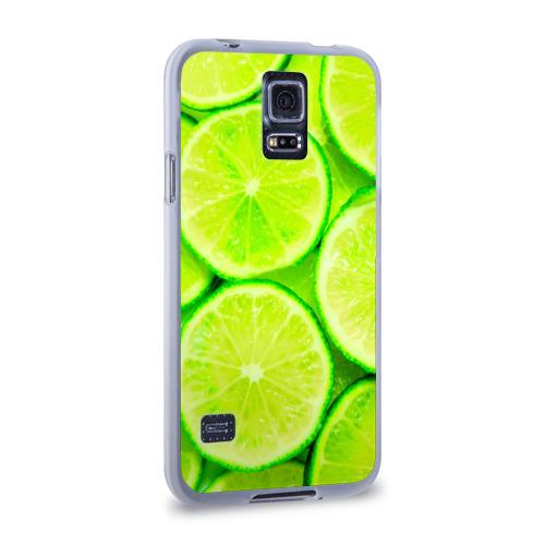 Чехол для Samsung Galaxy S5 силиконовый  Фото 02, Лайм
