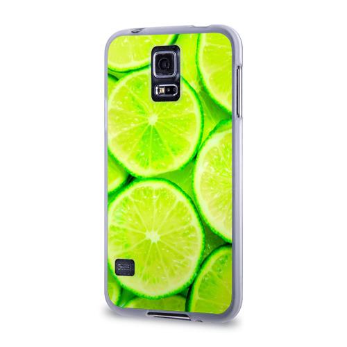 Чехол для Samsung Galaxy S5 силиконовый  Фото 03, Лайм