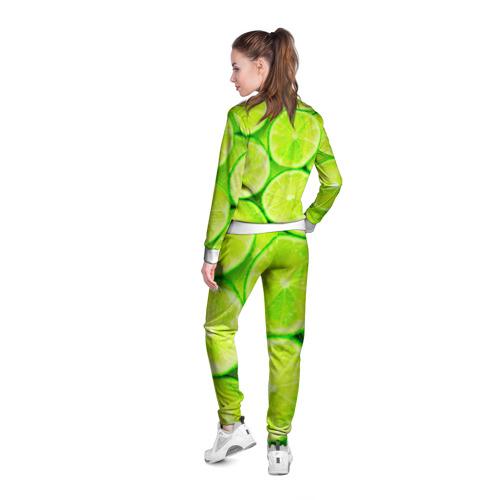 Женская олимпийка 3D  Фото 04, Лайм