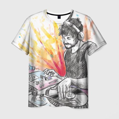 Мужская футболка 3D DJ