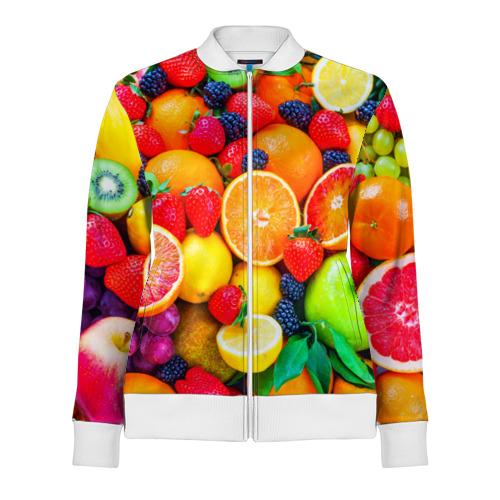 Женская олимпийка 3D  Фото 01, Ягоды и фрукты
