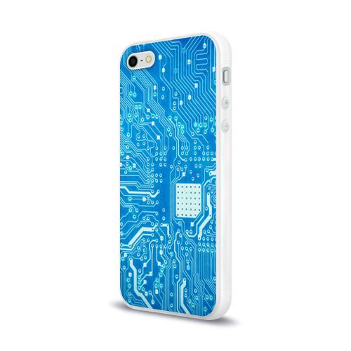 Чехол для Apple iPhone 5/5S силиконовый глянцевый  Фото 03, Системная плата