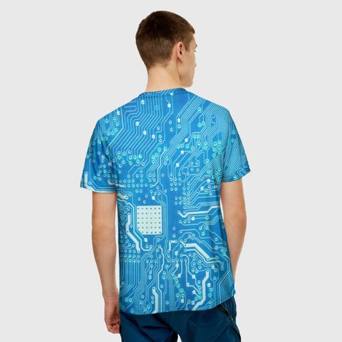 Мужская футболка 3D  Фото 02, Системная плата