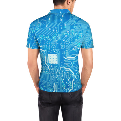 Мужская рубашка поло 3D  Фото 04, Системная плата