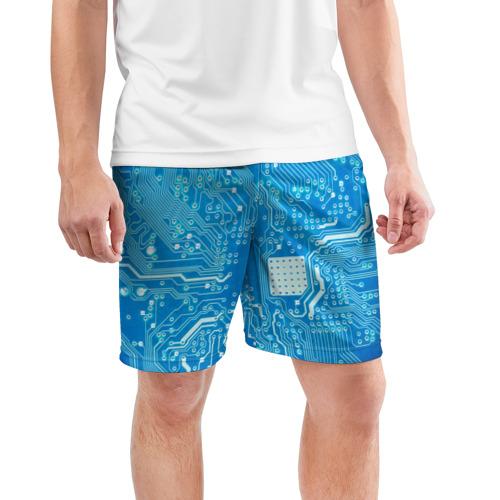 Мужские шорты 3D спортивные  Фото 03, Системная плата