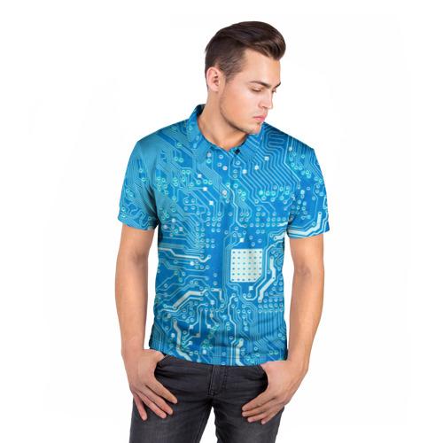 Мужская рубашка поло 3D  Фото 05, Системная плата