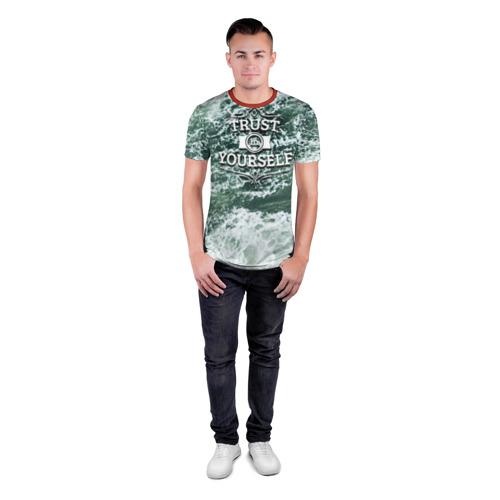 Мужская футболка 3D спортивная Верь в себя Фото 01