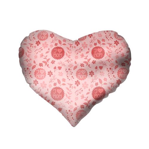 Подушка 3D сердце  Фото 02, Я люблю маму