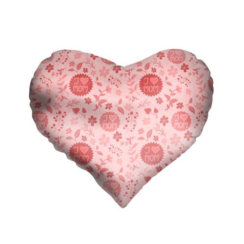 Подушка 3D сердце  Фото 01, Я люблю маму