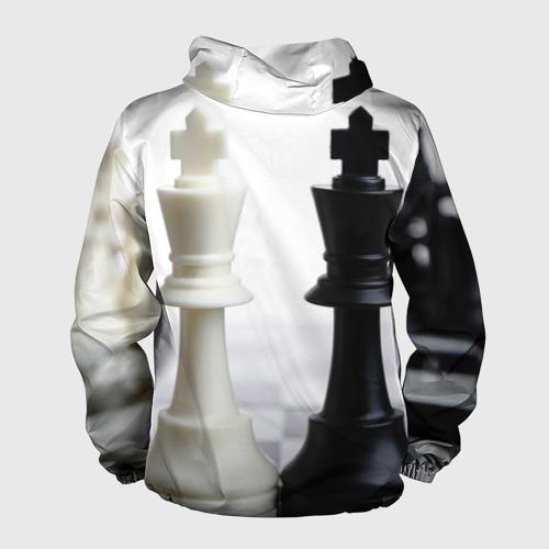 Мужская ветровка 3D Шахматы Фото 01