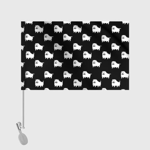 Флаг для автомобиля Undertale Annoying dog Фото 01