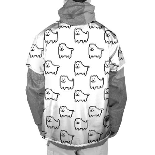 Накидка на куртку 3D  Фото 02, Undertale Annoying dog white