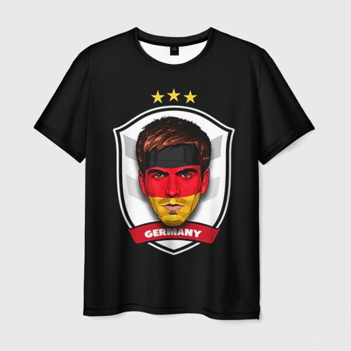 Мужская футболка 3D  Фото 01, Лам Бавария