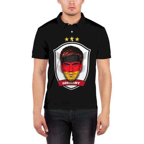 Мужская рубашка поло 3D  Фото 03, Лам Бавария