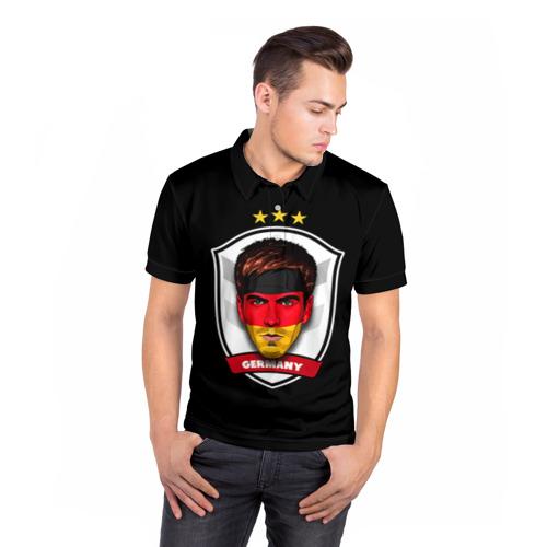 Мужская рубашка поло 3D  Фото 05, Лам Бавария