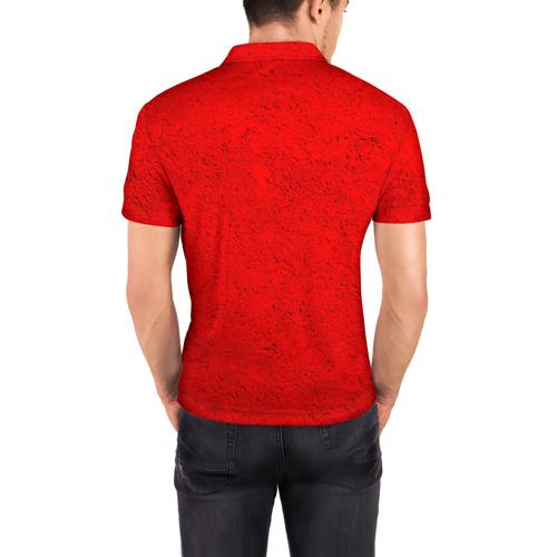 Мужская рубашка поло 3D  Фото 04, Бавария лого