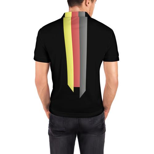 Мужская рубашка поло 3D ФК Бавария Фото 01