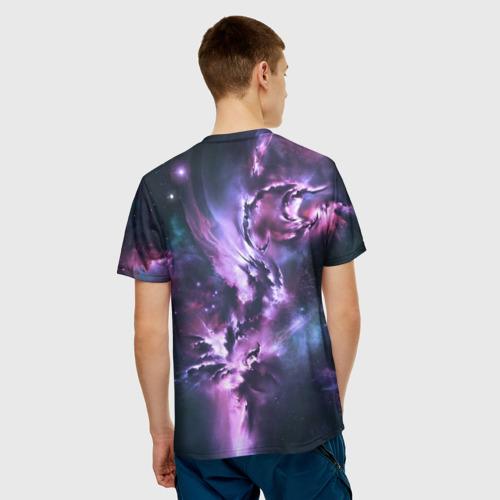 Мужская футболка 3D Space Фото 01