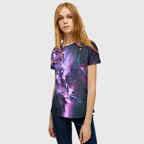 Женская футболка 3D Space Фото 01