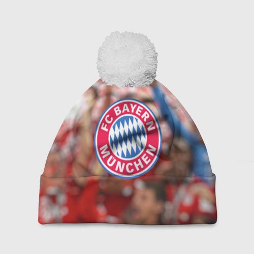 Шапка 3D c помпоном Бавария