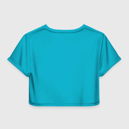 Женская футболка 3D укороченная  Фото 02, Казахстан