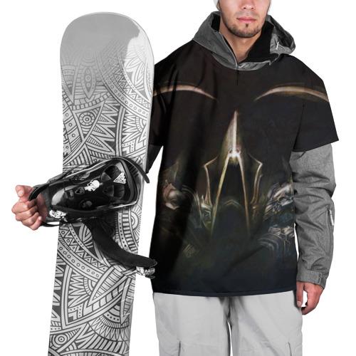 Накидка на куртку 3D  Фото 01, Diablo