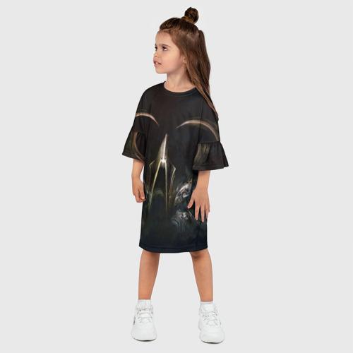 Детское платье 3D  Фото 03, Diablo