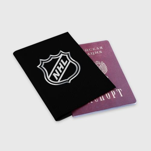 Обложка для паспорта матовая кожа  Фото 03, NHL