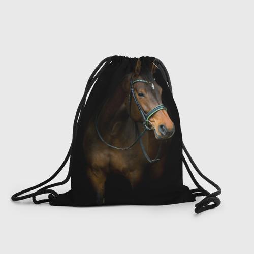 Рюкзак-мешок 3D Породистый жеребец Фото 01