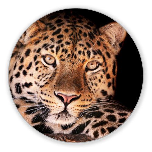 Коврик круглый Леопард от Всемайки