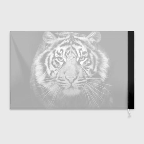 Флаг 3D Красавец тигр Фото 01
