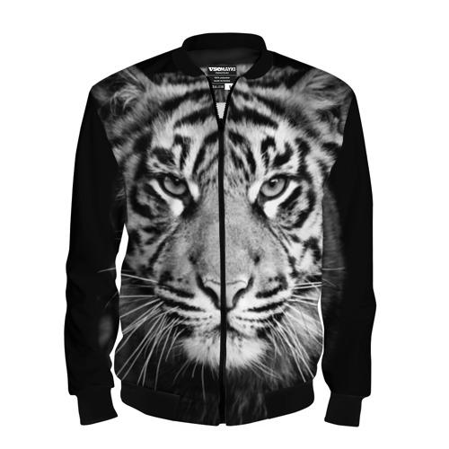 Мужской бомбер 3D Красавец тигр