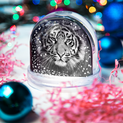 Снежный шар Красавец тигр Фото 01