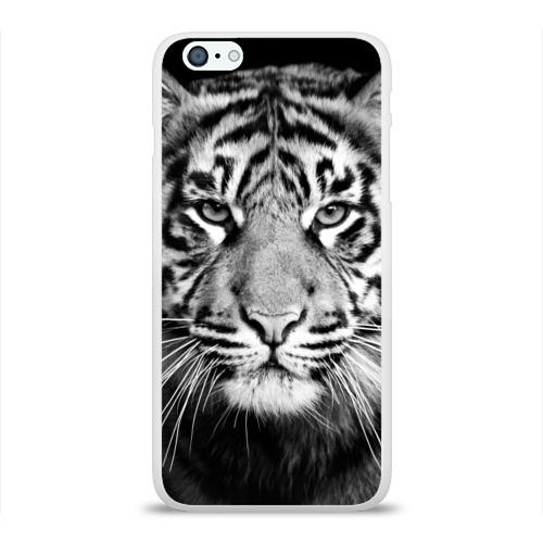 Чехол для iPhone 6/6S Plus глянцевый Красавец тигр Фото 01