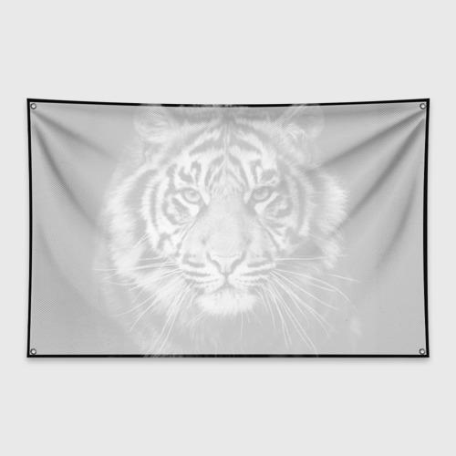 Флаг-баннер Красавец тигр Фото 01
