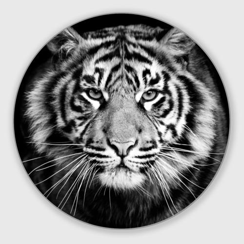 Коврик для мышки круглый Красавец тигр Фото 01
