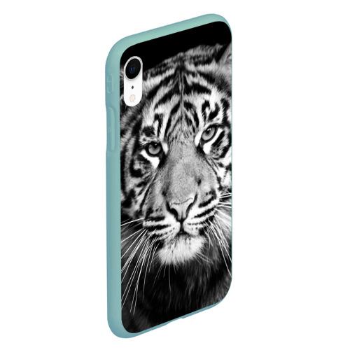 Чехол для iPhone XR матовый Красавец тигр Фото 01