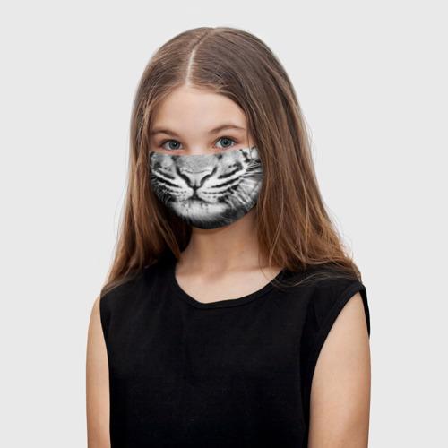 Детская маска (+5 фильтров) Красавец тигр Фото 01