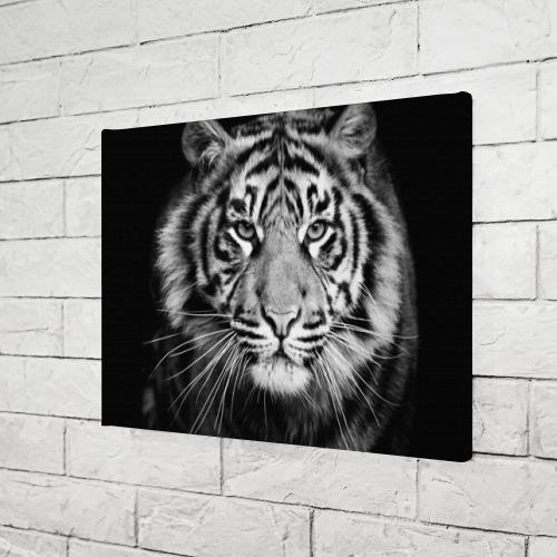 Холст прямоугольный Красавец тигр Фото 01